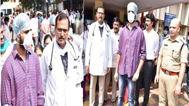 22-year-old recovers from COVID-19, discharged from hospital - Sakshi Post