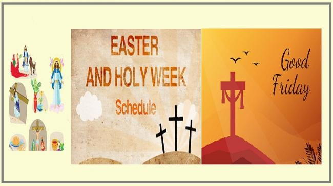 Everything You Need To Know About Easter Week And Good Friday - Sakshi Post