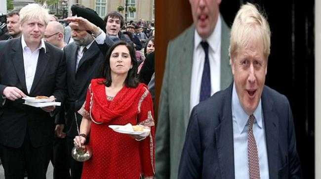 File Photo of Boris Johnson With ex- wife Marina Wheeler - Sakshi Post