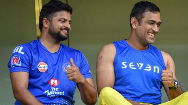 Suresh Raina and MS Dhoni - Sakshi Post