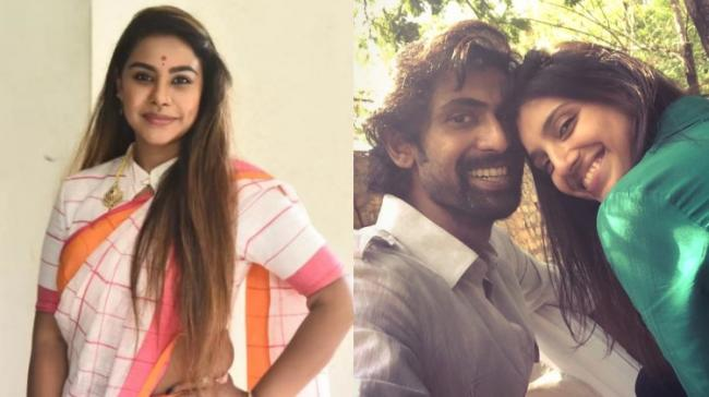Sri Reddy and Rana along with his girlfriend - Sakshi Post