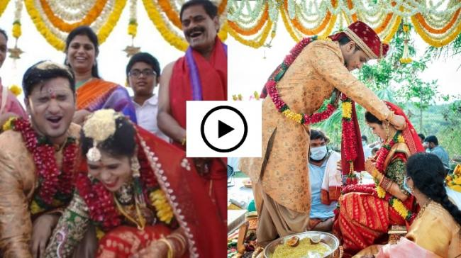 Nikhil marries Dr Pallavi Varma - Sakshi Post