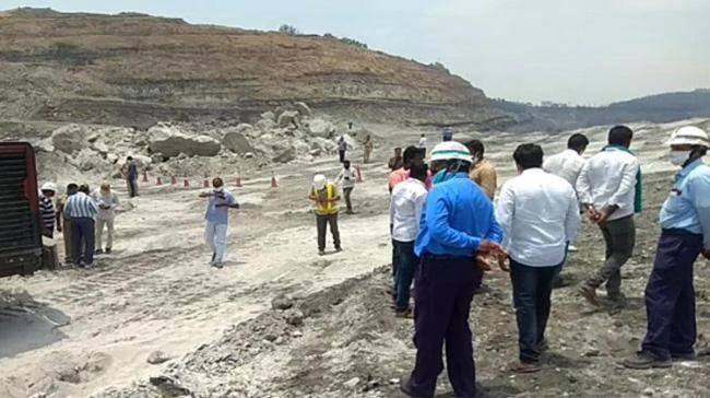 Blast site of Singareni opencast mine near Ramagundam - Sakshi Post