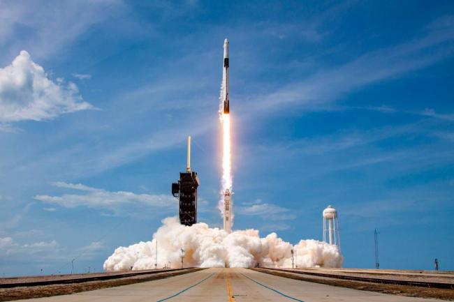 Pic courtesy: Twitter@SpaceX - Sakshi Post