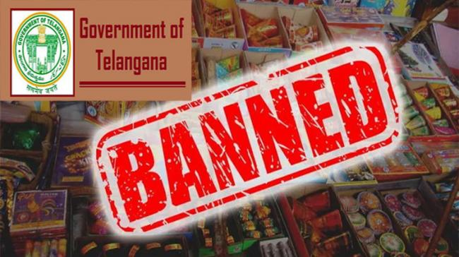 Telangana State  Government Bans Sale and Use of Firecrackers Diwali 2020 - Sakshi Post