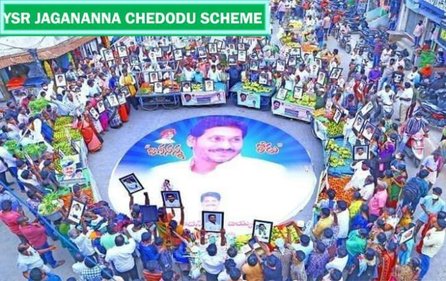 AP Government's Jagananna Thodu  launched by YS Jagan Mohan Reddy - Sakshi Post