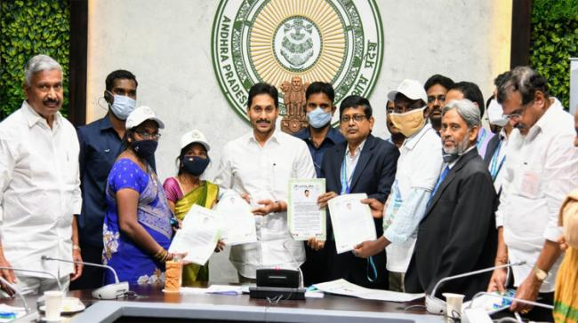 Chief Minister YS Jagan Mohan Reddy launches Jagananna Thodu today - Sakshi Post