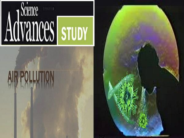 Journal Science Advances Study on Air Pollution and COVID-19 - Sakshi Post