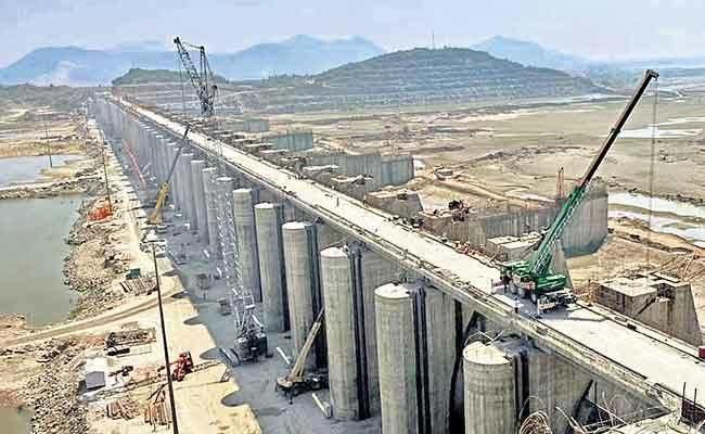 Polavaram Project Update: 192 Girders Installed In 60 Days - Sakshi Post