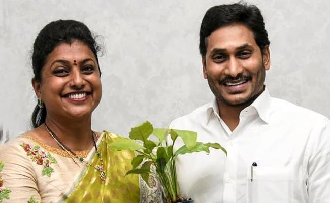 No Place in Andhra Pradesh For Other Political Parties: YSRCP MLA RK Roja - Sakshi Post