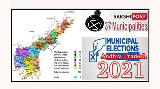 AP Municipal Elections2021 : Pending Works For Remaining 37 Municipalities To Be Cleared By 15th of April  - Sakshi Post