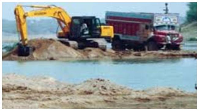 New Sand Mining  Policy In AP - Sakshi Post
