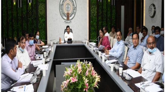 Review Meeting On Clean Andhra Pradesh, Jagananna Colonies, Projects In Visakhapatnam - Sakshi Post