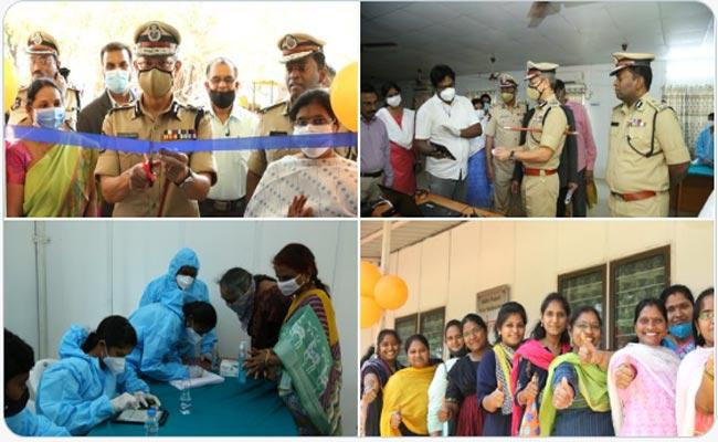 Womens Day 2021-DGP Gautam Sawang Launches Free Medical Camp For Female Police Staff - Sakshi Post