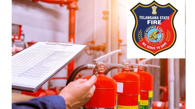 Fire Department Officials Inspect Kamineni Hospitals For Fire Safety Measures  - Sakshi Post