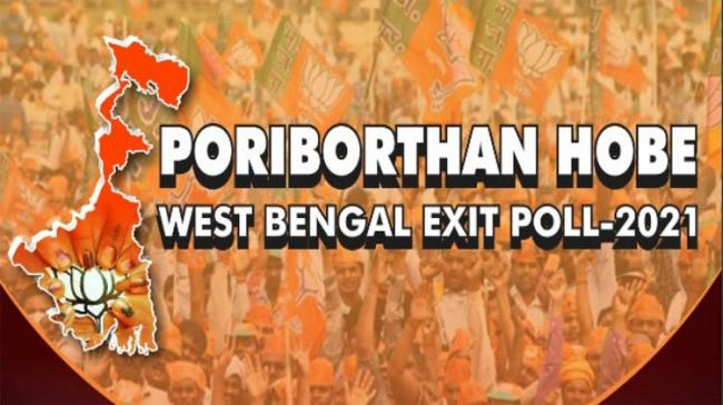 As per the Exit Poll conducted Peoples Pulse – INDIA TV, BJP will win with comfortable margin in West Bengal. BJP will win 172 – 191, TMC 64 - 88, Left Front+ 7 - 12. - Sakshi Post