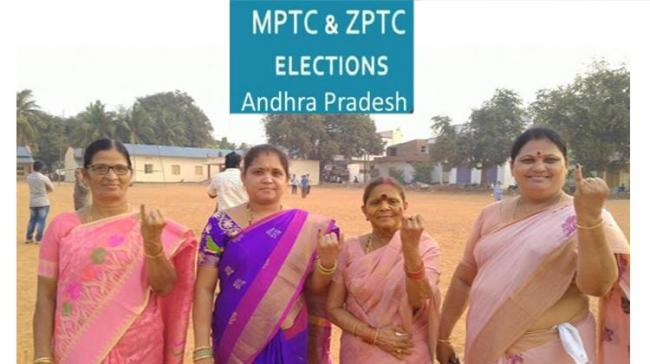 AP MPTC ZPTC Elections 2021 Live Updates - Sakshi Post