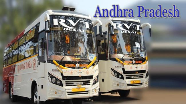 COVID-19 2nd Wave Effect: Private Bus Operators Stop Services In AP - Sakshi Post