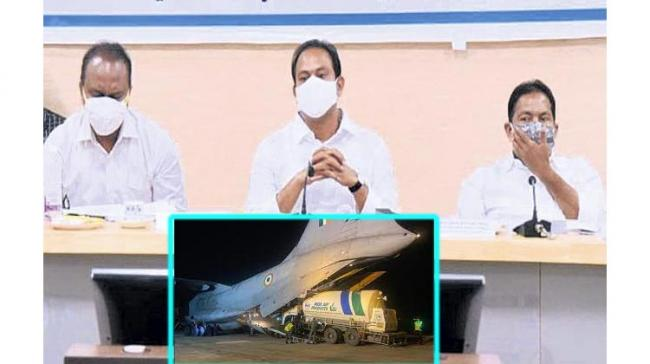 Covid-19 Crisis: IAF Planes To Airlift Oxygen Tanks From Odisha To Andhra - Sakshi Post