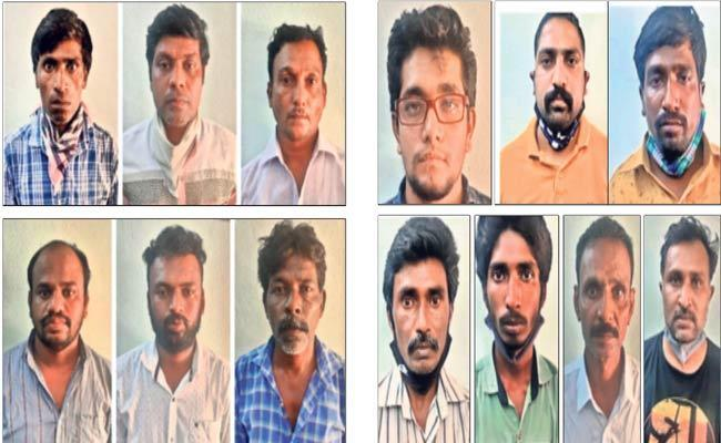 Madanapalle Rural Police Arrest Inter-state Gang Involved In Rice-pulling - Sakshi Post