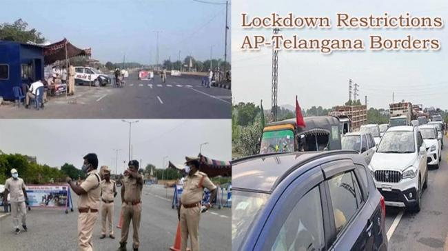 No Entry for Inter-state Travellers From AP as Telangana Seals Borders - Sakshi Post