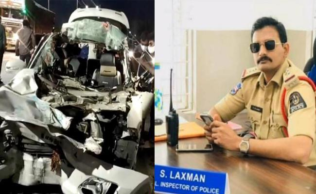 Sulthan Bazaar police inspector, wife killed in road accident near city limits - Sakshi Post