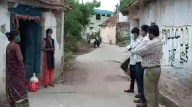 Upset with isolation, Covid positive woman hugs daughter-in-law, infects her in Sircilla,Telangana - Sakshi Post