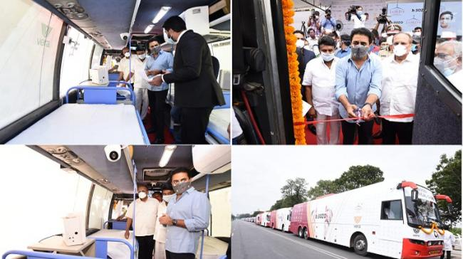 Religious organisation launches low cost mobile medical units called b SOZO buses - Sakshi Post