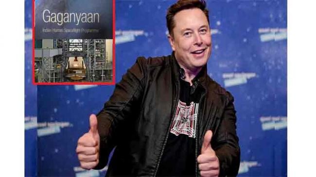 Elon Musk congratulates Isro for successfully conducting 3rd test on Vikas Engine for Gaganyaan Mission - Sakshi Post