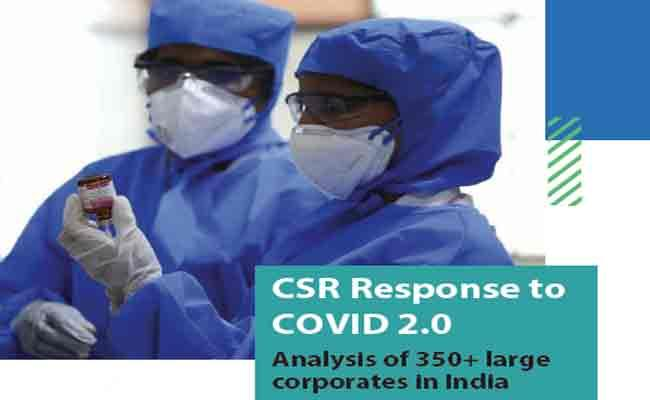 India Inc. Spent Over INR 1,600 crore on Mitigating Second Covid Wave,csr response to covid19 - Sakshi Post