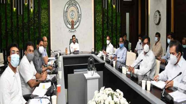 AP CM YS Jagan Mohan Reddy Review Meeting On COVID Situation, Health - Sakshi Post