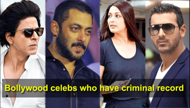 Bollywood Actors With Criminal Records - Sakshi Post