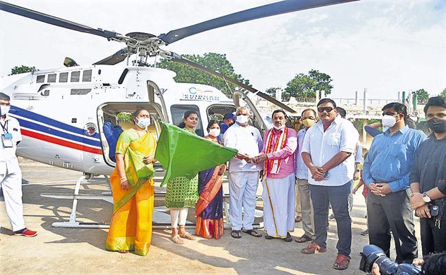 Helicopter Joyride In Vijayawada For Dasara, Check Prices And Ride Details - Sakshi Post