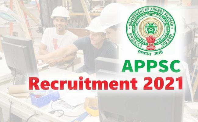 APPSC Assistant Engineer Recruitment Notification 2021 Released, Apply Here - Sakshi Post