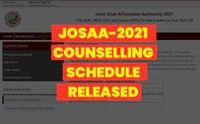 JoSAA 2021 Admissions Schedule For IIT, NIT+ Released, Check Details - Sakshi Post