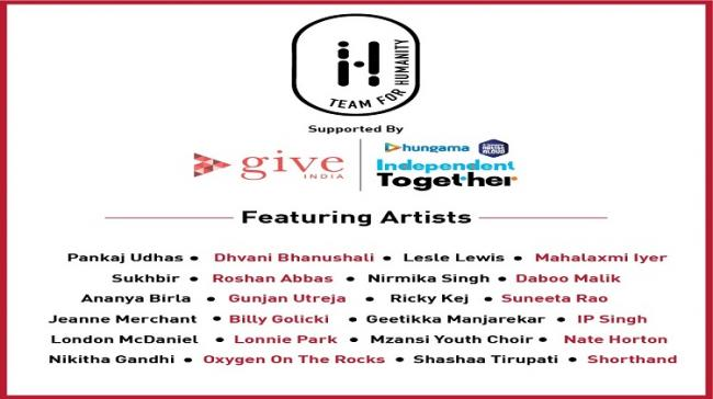 Music Industry Join Hands For Hungama Artist Aloud's Independent Together Concert to Support Covid Relief in India - Sakshi Post