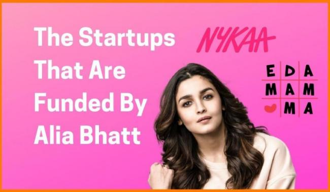 These Are The Startups Alia Bhatt Has Invested in