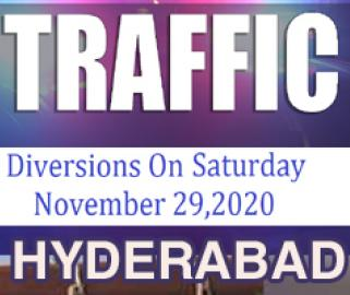 Hyderabad Traffic Diversions For TRS GHMC Election Campaign At LB Nagar On Nov.29 saturday - Sakshi Post