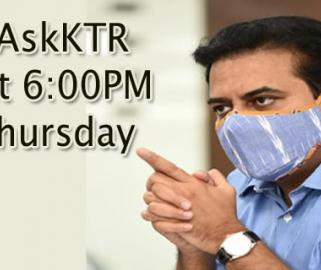 Ask KTR on Twitter Over Telangana Govt's COVID Initiatives Thursday May 13 - Sakshi Post