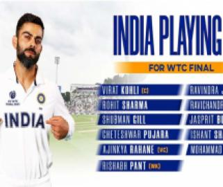 India's squad for the WTC final. - Sakshi Post