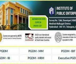 No Entrance Tests For Admissions to PGDM Courses at IPE Hyderabad - Sakshi Post